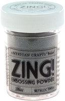 American Crafts Zing! Metallic Embossing Powder 1 Oz-Silver