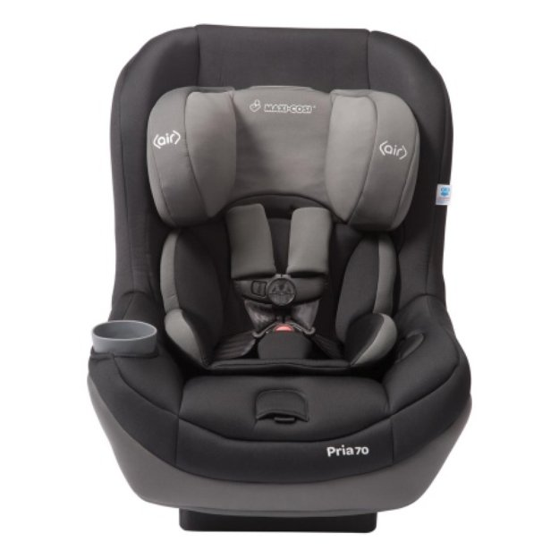 Maxi-Cosi Pria 70 Convertible Car Seat, Total Black, 1 ea