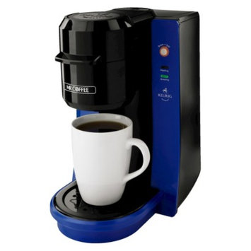 Mr. Coffee Single Serve with Keurig Brewed Technology - Blue