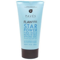 Pave's Professional Flawless Star Power Firm Hold Repairing Styling Gel for Dry & Damaged Hair 5oz Tube (1/pk)