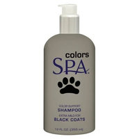 TropiClean Spa Dog and Cat Color Shampoo for Black Coats, 12-Ounce