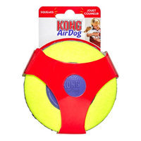 KONG Air Dog Squeaker Disc Dog Toy