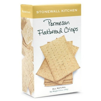 Stonewall Kitchen Parmesan Flatbread Crisps, 5.8-Ounce (Pack of 3)