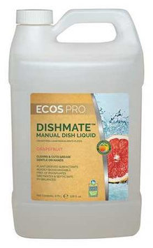 EARTH FRIENDLY PRODUCTS PL9722/04 Liquid Dish Detergent, 1 gal, Grapefruit