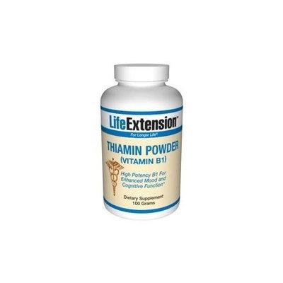 Life Extension Vitamin B1 Powder - 100g - Powder