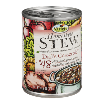 Variety Pet Foods Homestyle Dog Food Dad's Casserole #48