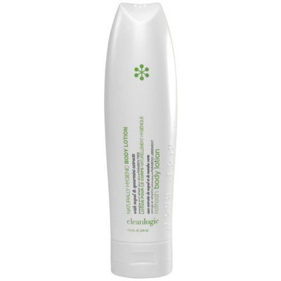 Clean Logic Restorative Body Lotion Enriched With Nopal Cactus, Spearmint, 11.5 oz (Pack of 2)