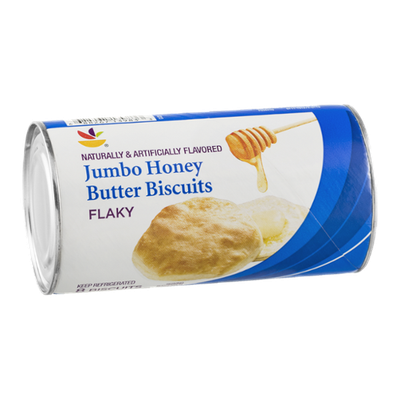 Ahold Jumbo Honey Butter Biscuits Flaky - 8 CT