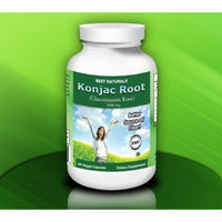 Best Naturals Konjac Root Glucomannan Root, 666 mg per capsule, 180 veggie capsules, Each serving of 3 capsules provides 2000 mg.
