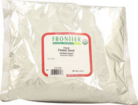 Frontier Natural Products Organic Ground Fennel Seed Powder 1 lb