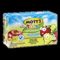 Mott's for Tots Juice Boxes Apple White Grape - 8 CT