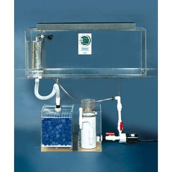 Clear-for-life Clear For Life Deluxe Rectangular Aquarium Blue, Size: 125-Gal (60W x 18D x 24H in.)