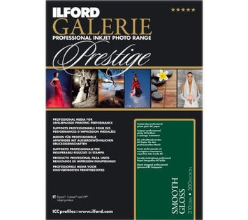 Ilford Galerie Prestige Smooth Gloss 5x7 100 Sheets 310gsm