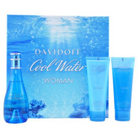 Davidoff Cool Water Gift Set for Women, 3 Piece, 1 set
