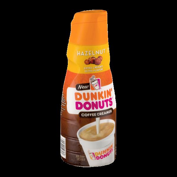 Dunkin Donuts Coffee Creamer Hazelnut