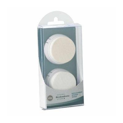 ZIA Natural Skincare Microdermabrasion Sponge Refill 4 Pack