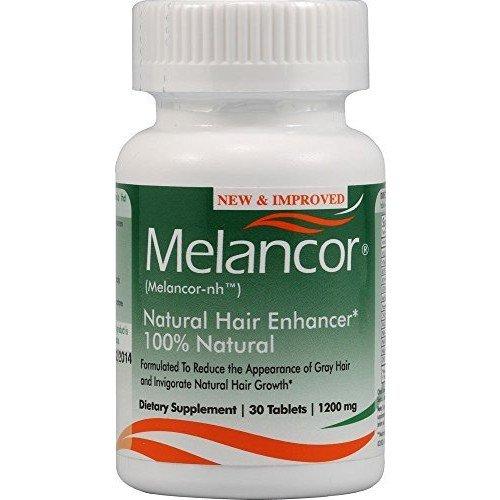 Melancor NH 1200mg - Natural Hair Enhancer, 30 caps