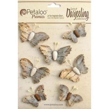 Regal Imports, Inc. Wild Butterflies 7/Pkg Soft Grey