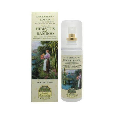 Hibiscus and Bamboo with Extracts of Hibiscus and Bamboo by Speziali Fiorentini 3.3 oz Deodorant Spray