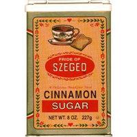Szeged Cinnamon/Sugar, 8-Ounce Tins (Pack of 6)