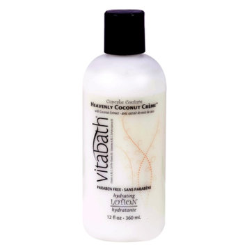 Vitabath Hydrating Lotion, Heavenly Coconut Creme, 12 fl oz