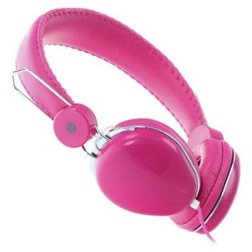 Moki ACCHPVLP Volume Limited Over-the-Ear Headphones - Pink