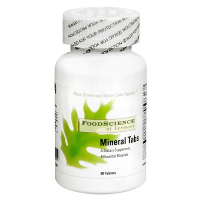 FoodScience of Vermont Mineral Tablets Dietary Supplement