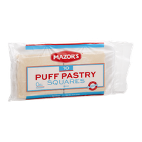 Mazor's Puff Pastry Squares - 10 CT