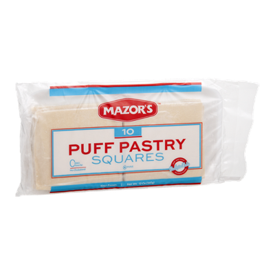 Mazor's Puff Pastry Squares - 10 CT