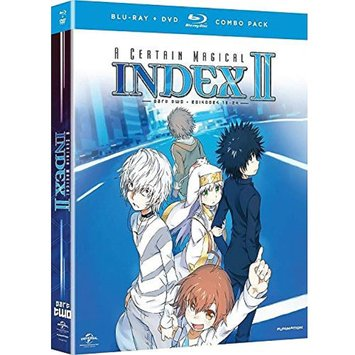 A Certain Magical Index II: Season Two, Part Two (Blu-ray + DVD) (Widescreen)