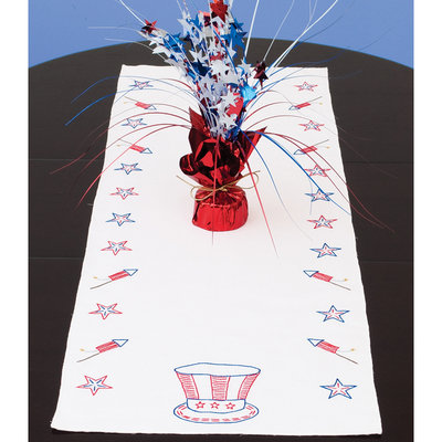 Jack Dempsey Independence Day Stamped Table Runner, 15