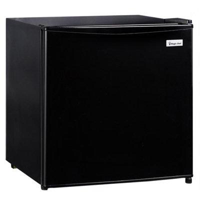 Magic Chef MAGIC CHEF MCBR170BMD 1.7 Cubic-Ft Refrigerator Black