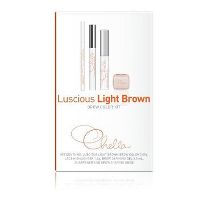 Chella Luscious Light Brown Color Kit, 1 Count
