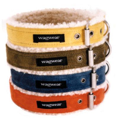 Wagwear Shearling Dog Collar
