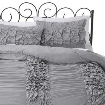 Xhilaration Textured Comforter Set - Gray (Twin)