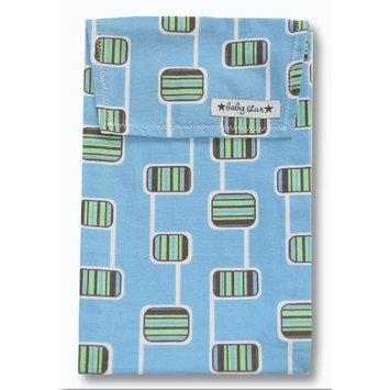 Baby Star Diaper Pouch, Hopscotch Blue