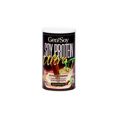 GeniSoy Ultra Soy Protein Shake Chocolate 22 Ounces