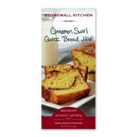 Stonewall Kitchen Quick Bread Mix, Cinnamon Swirl, 17-Ounce (Pack of 3)
