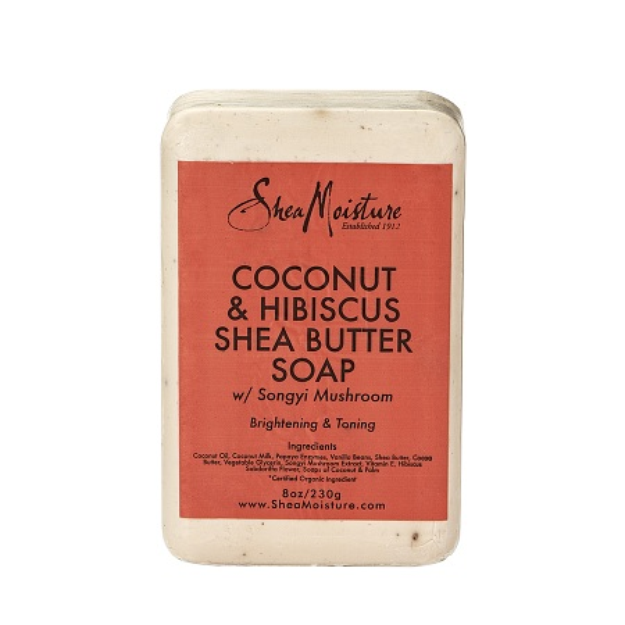SheaMoisture Coconut & Hibiscus Shea Butter Soap