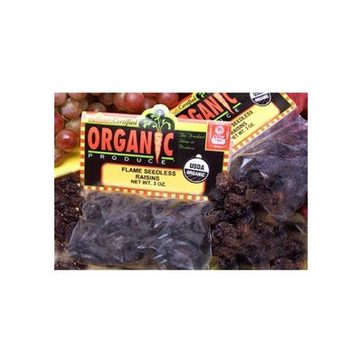 Melissa's Organic Raisins, 3 Packages (3 oz)