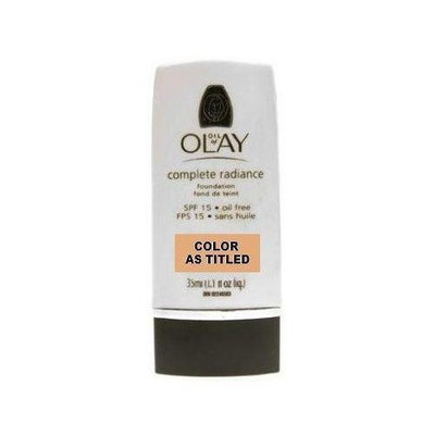 Oil of Olay Complete Radiance Foundation SPF 15 Oil Free True Beige