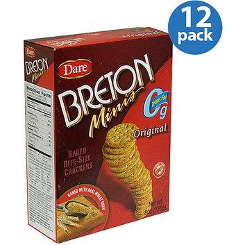 Dare Breton Minis Original Wheat Crackers