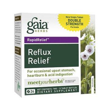 Gaia Herbs Reflux Relief Digestive Support