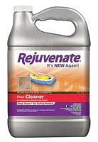 REJUVENATE RJFC128 Floor Cleaner,128 oz, Lemon, PK4