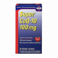 GNC Preventive Nutrition Super Coq-10 100mg 30 Softgel Capsules