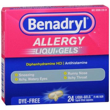 Benadryl Dye-Free Allergy