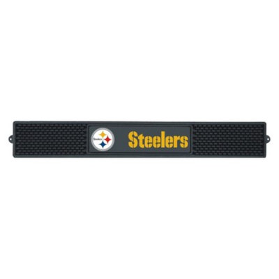 Pittsburgh Steelers Fanmats Drink Mat Black