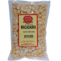 Spicy World Macadamia Nuts Halves & Pieces (Unsalted) 2 Pound Bag - Value Sizeï¾