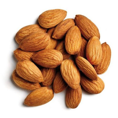 Spicy World Almonds Whole (Natural and Raw), 4 Pound