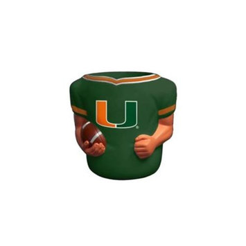 Caseys Distributing 2655170836 Miami Hurricanes Jersey Can Cooler